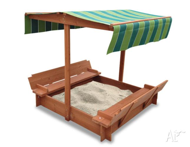 Brand New Lifespan Kids Skipper Sandpit with Canopy
