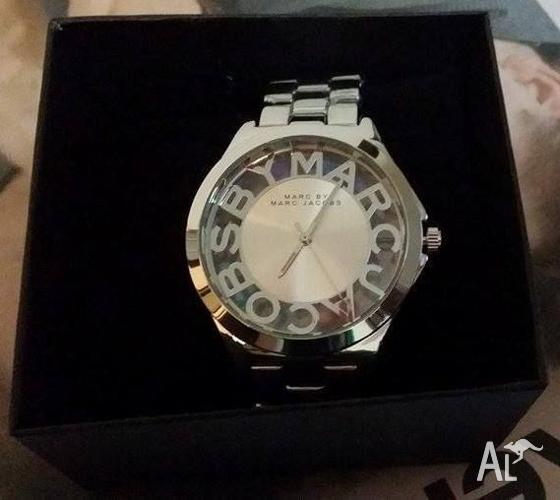 Brand new Marc Jacobs Womens/Ladies silver watch