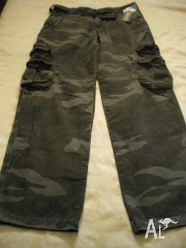 Brand New Men's Camouflage Long Pants