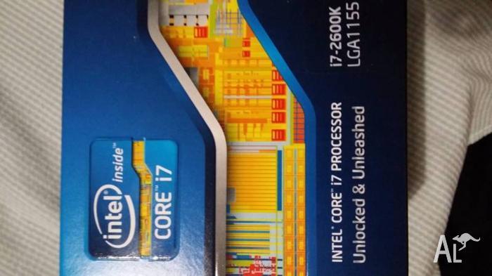 Brand new sealed Intel Core i7 2600k unlocked CPU