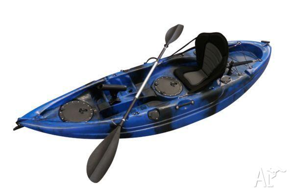 BRAND NEW STEALTH FISHING KAYAK 1 SEATERS