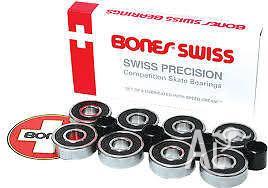 Brand New Swiss Bones Bearings