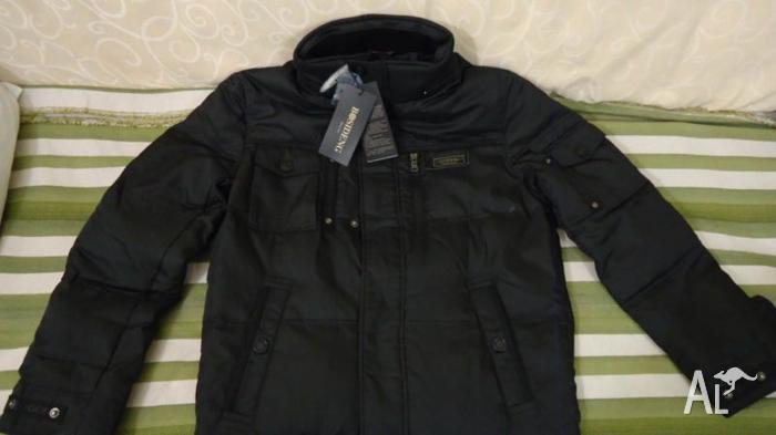 Brand new top quality black down pilot jacket (New