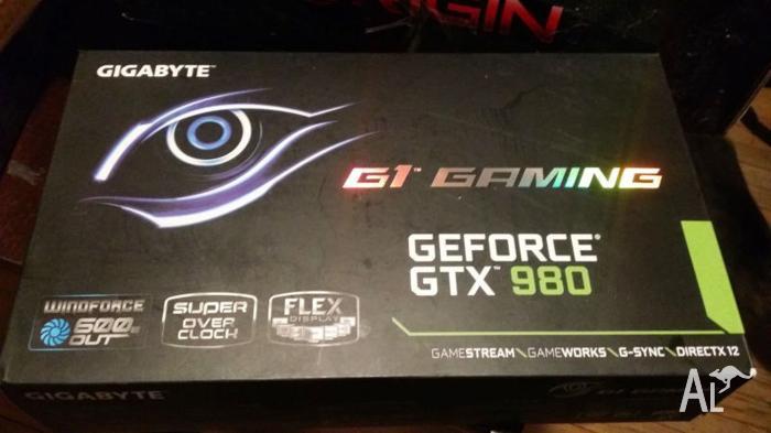 BRAND NEW UNOPENED GTX N980 G1 GAMING 4GB
