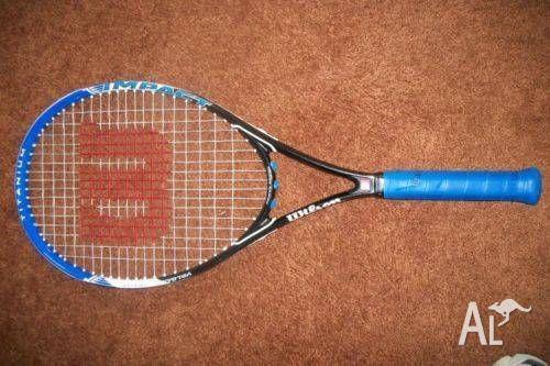 Brand NEW Wilson Impact titanium tennis raquets x 2