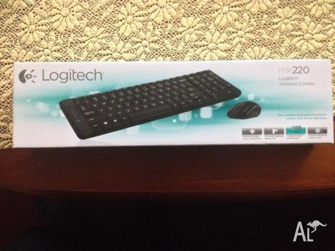 Brand New Wireless Logitech keyboard and Mouse