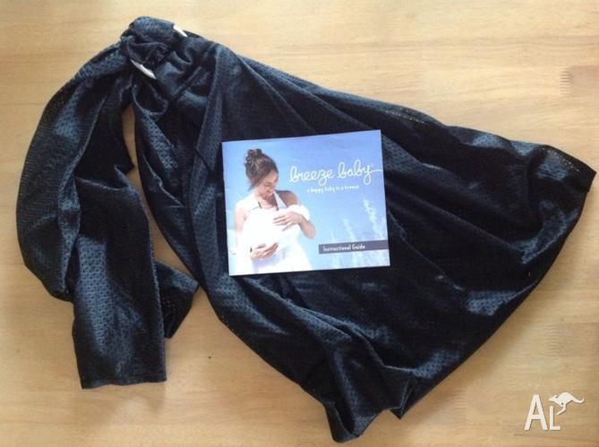 Breeze baby sling (black)