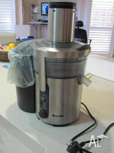 Breville IKON Juicer-Extra Wide Feed Chute - Excellent