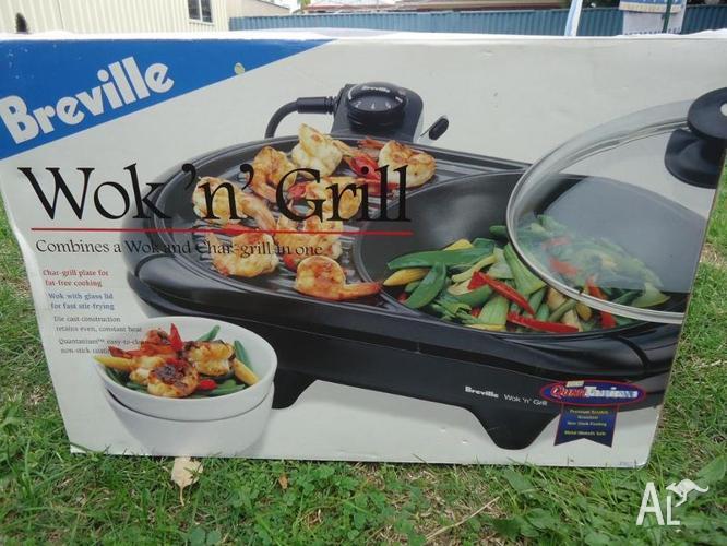 breville wok n grill for sale in safety bay western. Black Bedroom Furniture Sets. Home Design Ideas