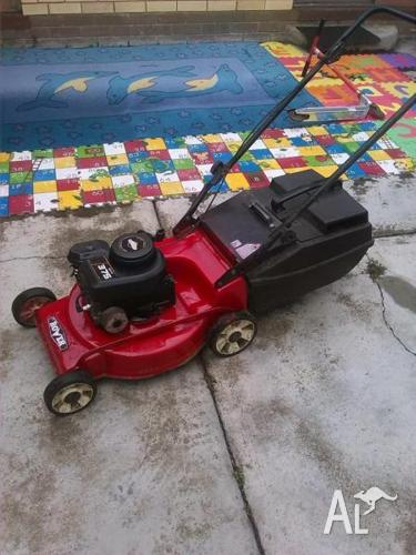 brigs and straton rover mower