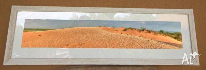 broome sand dunes framed print