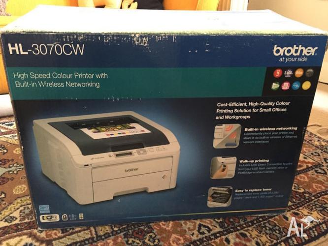 Brother HL-3070CW Wireless Colour Laser Printer