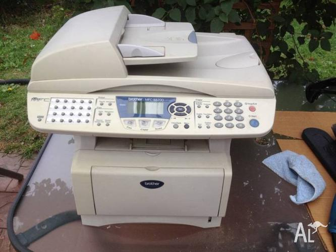 Brother MFC 8820D - black & white printer, fax & copy
