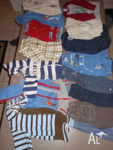 Bulk Boys Clothing Sz 000-2
