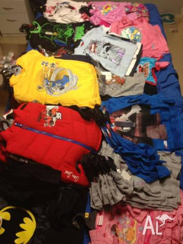 Bulk lot of Brand New childrens Clothing for resell 540