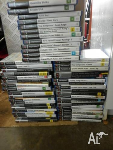 BULK LOT OF PS2 GAMES