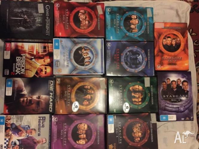 Bulk Lot Of TV Shows,Series dvd movies complete