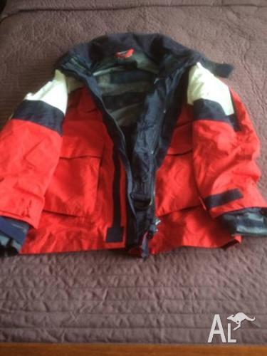 Burke wet weather jacket