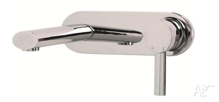 Buy Branded Bathroom Basin Mixer Wallset Taps Chrome at