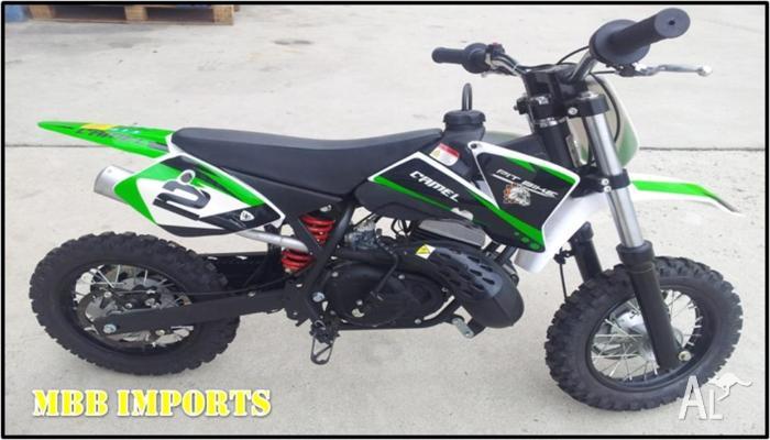 Buy kids dirt bikes 50cc performance pitbike for sale in orange new