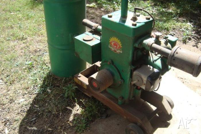 Buzacott stationary engine for sale in diddillibah for Stationary motors for sale