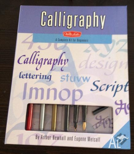 Calligraphy Kit A Complete Kit For Beginners For Sale In