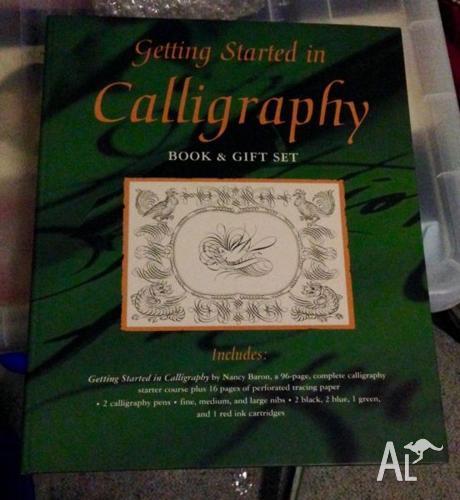 Calligraphy Set For Sale In Munruben Queensland