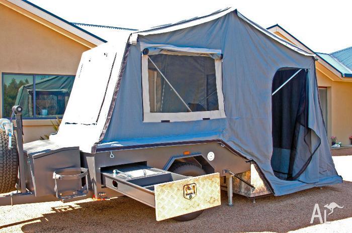 Excellent New SKAMPER KAMPERS DINGO HARD FLOOR Camper Trailers For Sale