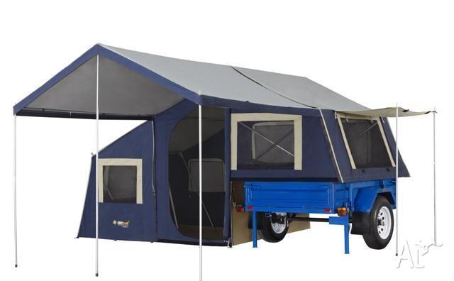 Camper Trailer Standard 6x4 Oztrail Camper 7 On Road