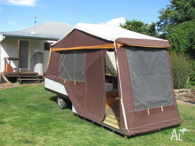 Campomatic Hard Floor Camper Trailer for Sale in LAMBS ...