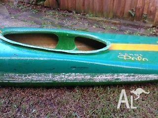 Canoe Polo Bat with paddle