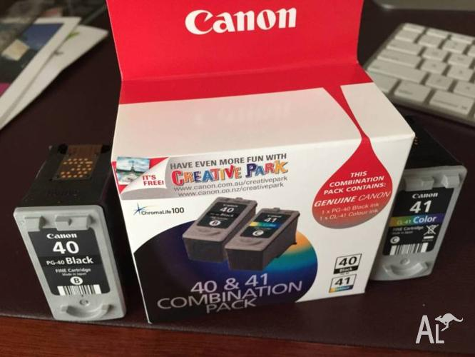 Canon CL 41/42 Ink Cartridges. Four in total