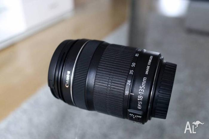 Canon EF-S 18-135mm F3.5-5.6 IS STM Standard Zoom