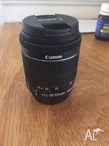 Canon EF-S 18-55mm f/3.5-5.6 IS STM Lens for EOS DSLR