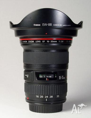 Canon EF 16-35mm f2.8L II USM Lens - Brand New -