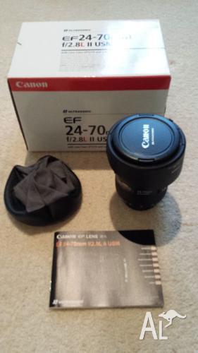 Canon EF 24-70mm F/2.8 L F2.8 24-70 II USM Lens