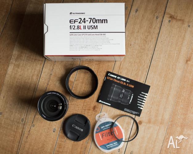 Canon EF 24 - 70mm f/2.8L II USM Lens