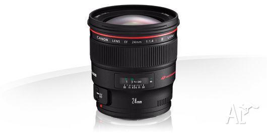 Canon EF 24mm 1.4 L II USM Lens