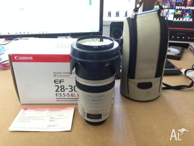 Canon EF 28-300mm f/3.5-5.6 IS USM L Lens