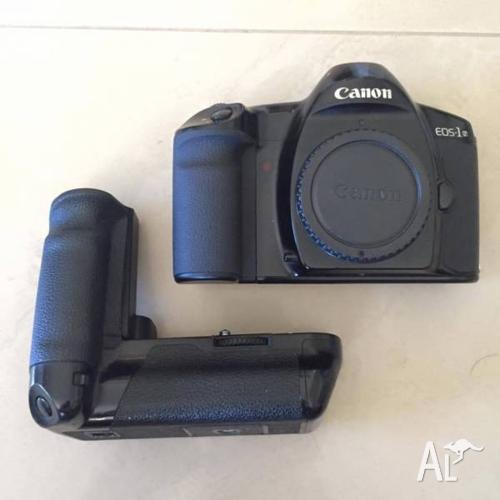 CANON EOS 1N with SPEED BOOSTER AND GRE1
