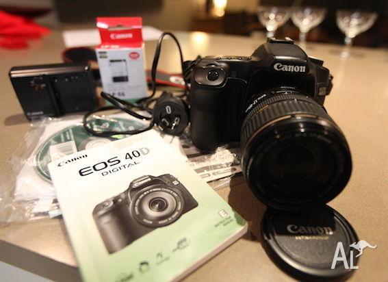 CANON EOS 40D CAMERA KIT - GREAT PHOTOS - GOOD TO GO!