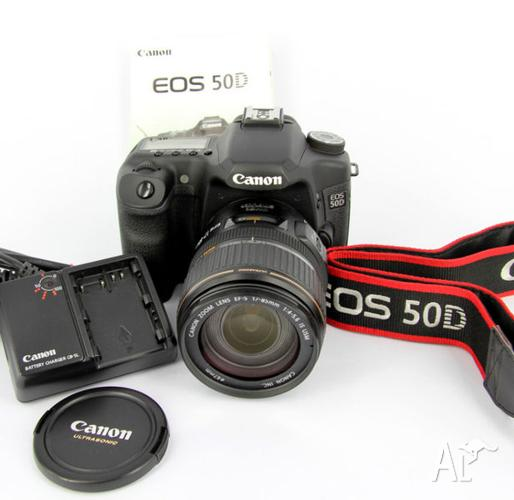 Canon EOS 50D with 17-85mm Canon Lens