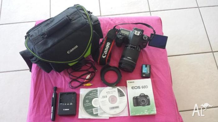 Canon EOS 60D with 18-135mm Lens
