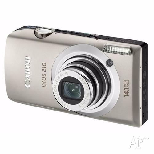 Canon IXUS 210 Digital Camera + Charger