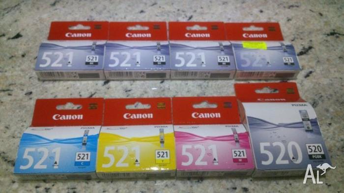 CANON PIXMA INK CARTRIDGES 520 & 521