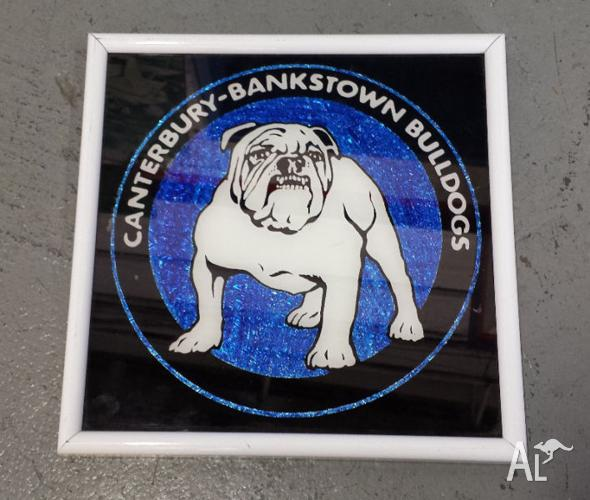 Canterbury Bankstown Bulldogs framed picture - 1990's