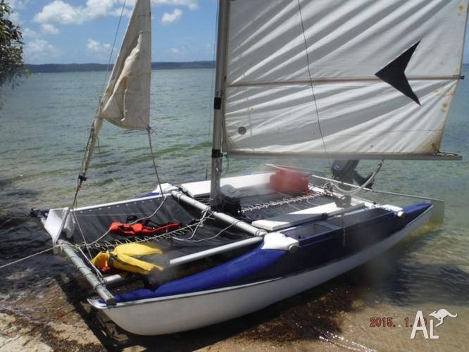 Caper catamaran 14 ft