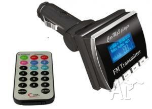 Car MP3 FM Modulator with LCD