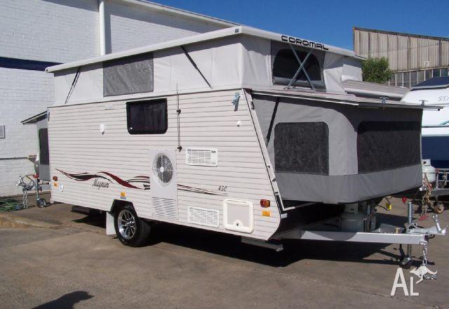 Beautiful Coromal Caravans For Sale Camper Trailers Camper Vans  Cannington
