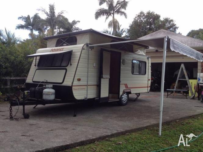 Caravan Pop Top [Great Van ] $4000 spent on extras